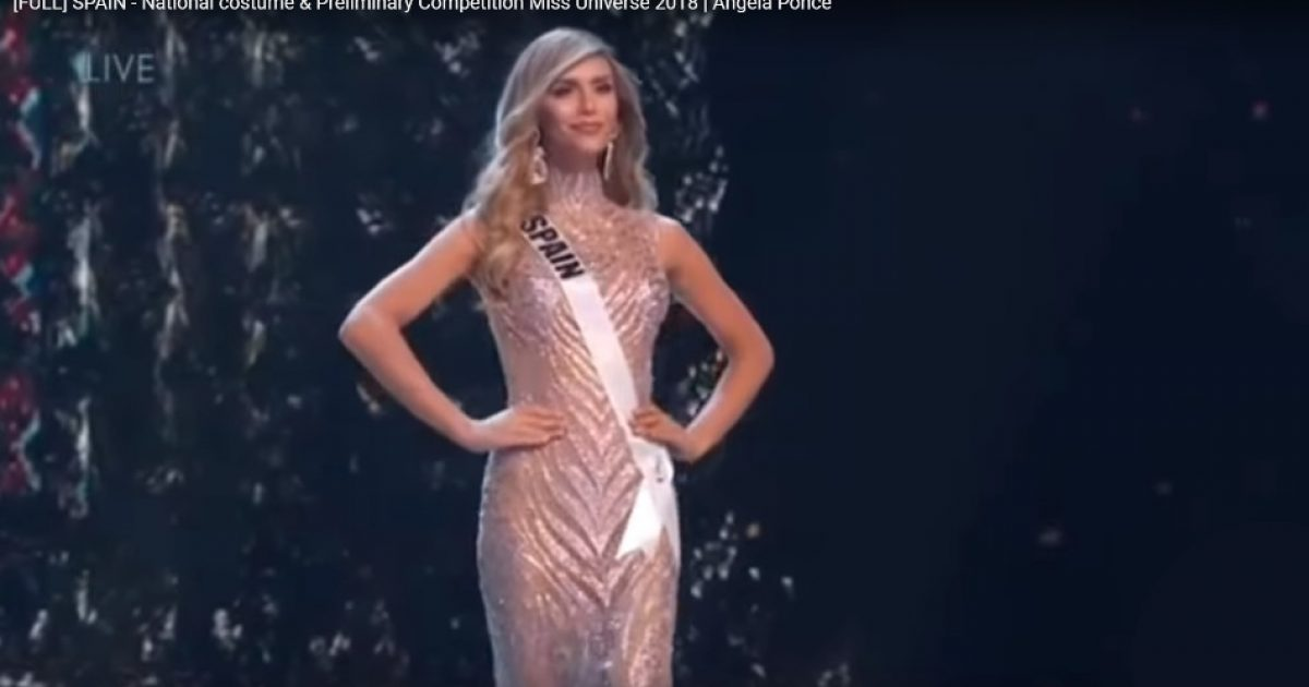 Man Competing in Miss Universe Contest Another Advance for The Sexual Revolution