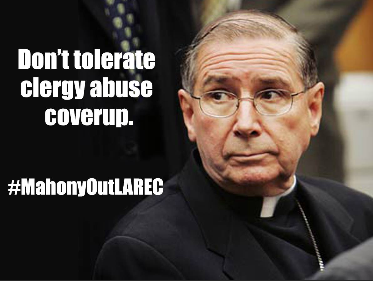 Pathetic: Ruth Institute to LA Archdiocese re: Mahony